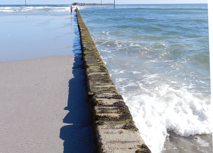 Image result for wrightsville beach south side jetty